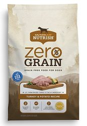 Rachael Ray Nutrish Zero Grain Natural Dry Dog Food, Grain Free, Turkey & Potato, 14 lbs