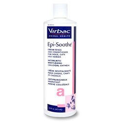Virbac 001816 Epi-Soothe Cream Rinse Pet Conditioner, 16 oz