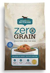 Rachael Ray Nutrish Zero Grain Natural Dry Dog Food, Grain Free, Salmon & Sweet Potato, 23 lbs