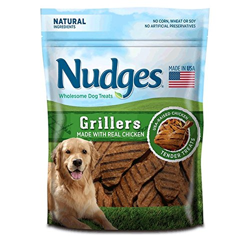 Nudges Grillers Dog Treats, Chicken, 18 Ounce