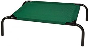 AmazonBasics Elevated Cooling Pet Bed – Small