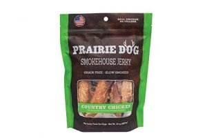 PRAIRIE DOG PET PRODUCTS Smokehouse Jerky, 15 oz, Country Chicken