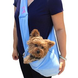 Anima 3950-SBL Light Blue Cotton Sling Bag Carrier