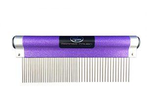 Resco USA-MADE Wrap Comb for Pets, Combination, Sparkle purple