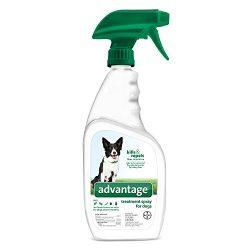 Advantage Flea and Tick Treatment Spray Dog and Puppy 15 oz