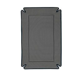 K&H Pet Products Odor-Control Crate Pad Large Gray 25″ x 37″