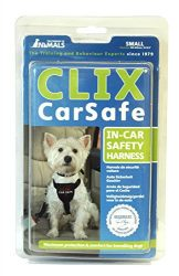 The Company of Animals – CLIX CARSAFE Dog Harness – Multi-Purpose Car Seat Belt and Walking Harness – Easy, Adjustable, Secure and Safe – Small