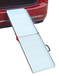 Penn Plax Dog Aluminum Car Ramp-6′