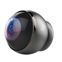 EZVIZ ez360 Pano TripleHD 360 Degree Panoramic Wireless Wi-Fi Security Camera, 3MP STARVIS Back Illuminated Image Sensor, Fisheye Lens,  Full Duplex Two-way Audio