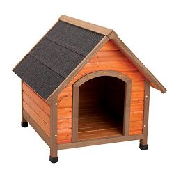 Ware Manufacturing Premium Plus A-Frame Fir Wood Dog House – Medium