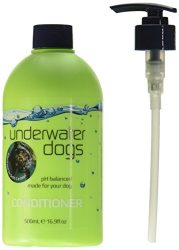 Underwater Dogs – Soap Free Dog Shampoo and Conditioner Set – 16.9 Fl. Oz. Vanilla/Coconut – Eliminates Pet Odor and Relieves Itchy Skin