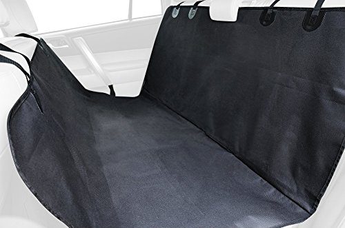 Living Express Waterproof Non-Slip Hammock Design Back Bench Car Seat Cover for Pet Dog,Single Layer Seat Cover