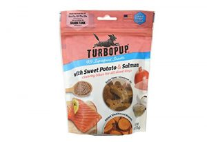 TurboPUP K9 Superfood Snacks With Sweet Potato & Salmon   Healthy Dog Treats Are All-Natural, Grain-Free, Made in the USA
