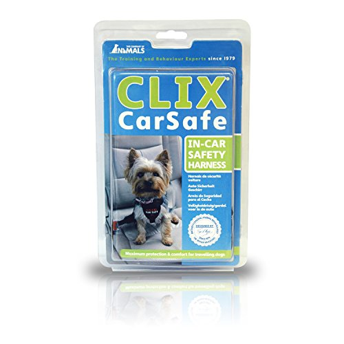 The Company of Animals – CLIX CARSAFE Dog Harness – Multi-Purpose Car Seat Belt and Walking Harness – Easy, Adjustable, Secure and Safe – X-Small
