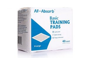 All-Absorb Basic Training Pads, 40Count, 28″ by 34″