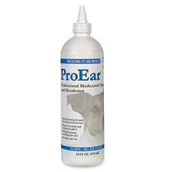 Top Performance ProEar Alcohol-Free Cleaners — Versatile and Effective Solution for Cleaning Dog and Cat Ears, 16 oz.