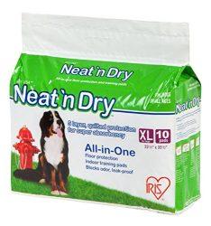 IRIS Neat 'n Dry Premium Training Pads, Extra Large, 23.5″ x 35.5″, 100 Count