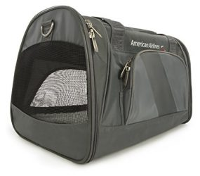 Sherpa American Airlines Duffle Pet Carrier, Medium, Charcoal