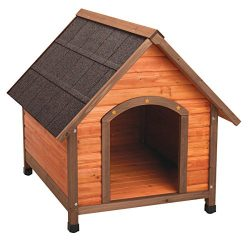 Ware Manufacturing Premium Plus A-Frame Fir Wood Dog House – Large