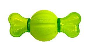 Hyper Pet Dura-Squeaks Bony Ball Dog Toy