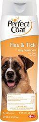 Perfect Coat Flea and Tick Dog Shampoo, 16-Ounce (I612EA)