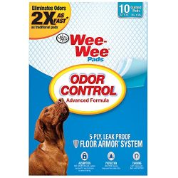 Four Paws Wee-Wee Odor Control Puppy Pads by, 10 Ct