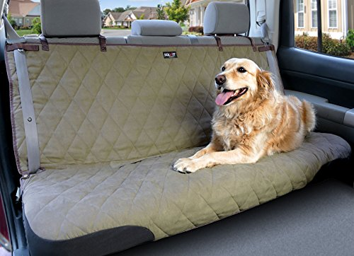 Solvit Products 62283 Deluxe Bench Seat Cover Natural, Large