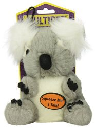 Multipet Look Who's Talking Dog Toy, black