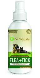 Pet Naturals of Vermont – FLEA + TICK Repellent Spray, 8-Ounce