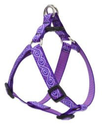 LupinePet Originals 3/4″ Jelly Roll 20-30″ Step In Harness for Medium Dogs
