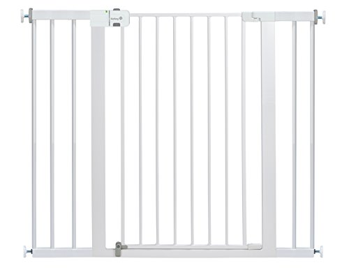 Safety 1st Easy Install Extra Tall & Wide Gate, 36″ High, Fits Spaces between 29″ and 47″