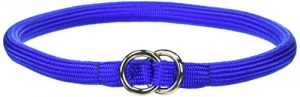 Coastal Pet Products Round Nylon Blue Choke Collar for Dogs, 3/8 By 20-inch