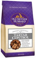 Old Mother Hubbard Mother's Solutions Tartar Control Crunchy Natural Dog Treats, 20-Ounce Bag