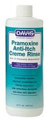 Davis Pramoxine Anti Itch Dog and Cat Creme Rinse, 12-Ounce