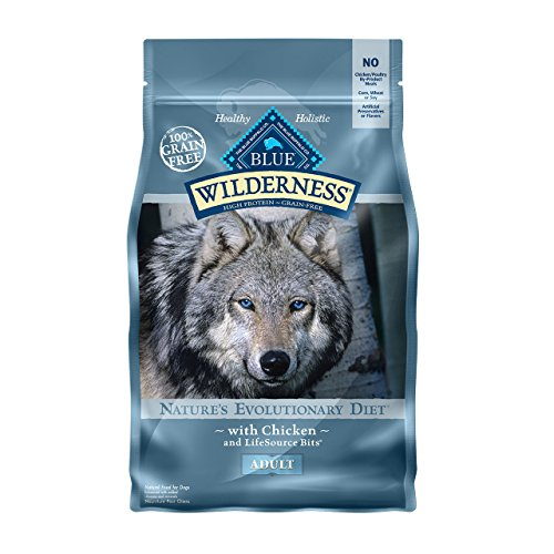 BLUE Wilderness Adult Grain Free Chicken Dry Dog Food 11-lb