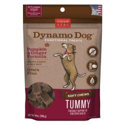 Cloud Star Dynamo Dog Tummy Digestion Support Soft Chew Treats – Pumpkin & Ginger – Grain Free – 14 oz