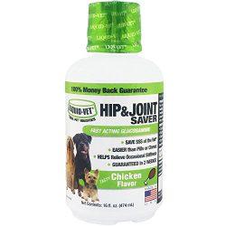 Liquid-Vet by COOL PET Holistics LVDJS-CH-04PK-U Hip & Joint Dog Joint Supplement, 16 oz