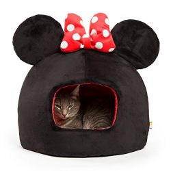 Disney Minnie Mouse Dome, Black/Red, One Size