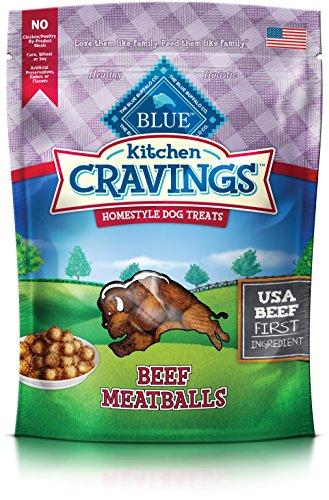 Blue Kitchen Cravings Beef Meatball Dog Treats 6-oz