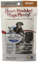 Ark Naturals Company Wags Plenty Heart Healthy Grey Muzzle, Senior Dogs, 60 Count