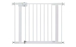 Safety 1st Pressure Mount Easy Install Walk Thru Gate, Fits Spaces between 29″ and 38″ Wide