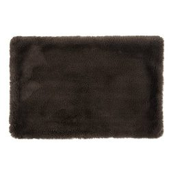 Bone Dry DII Faux Fur Silky Soft X-Large Pet Cage Liner for Dogs & Cats, 22×36, Perfect for Kennels, Car Trips, Floors, Crates-Brown