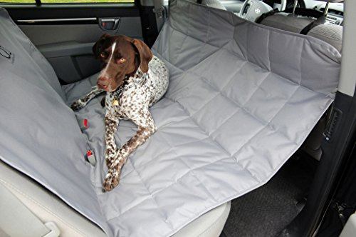 Petego Rear Car Seat Protector Hammock Style, Gray, X-Large
