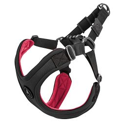 Gooby Escape Free Sport Dog Harness for Dogs that Pulls and Escapes, Black, Medium