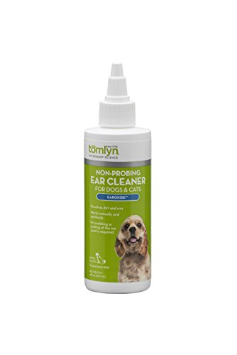 Tomlyn Non-Probing Ear Cleaner for Dogs and Cats, (Earoxide) 4 oz