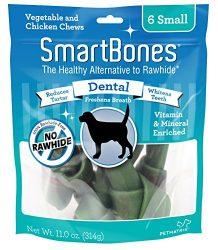DreamBone SmartBones Dental Dog Chew, Rawhide Free, Small Bones