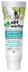 Vet Worthy Peanut Butter Toothpaste for Dogs (3 oz)