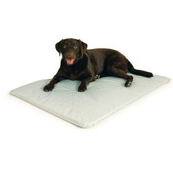 K&H Pet Products Cool Bed III Cooling Dog Bed Large Gray 32″ x 44″