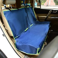 Iconic Pet Furrygo Car Bench Seat Cover, Navy Blue