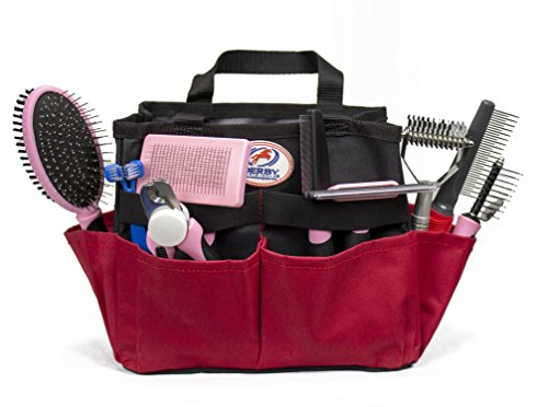 cuteNfuzzy 11 Piece New Pet Small or Large Grooming Starter Kits in 2 Colors for Dogs & Cats (Large, Pink)